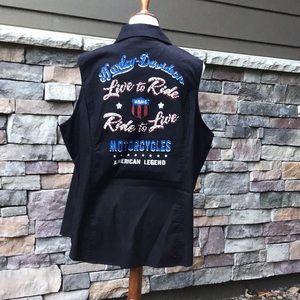 Harley Davidson NWOT size 2X sleeveless shirt